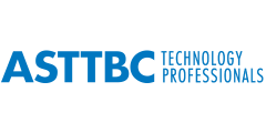 Logo for the Applied Science Technologists and Technicians of British Columbia.