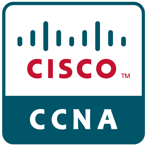 Logo for CCNA.