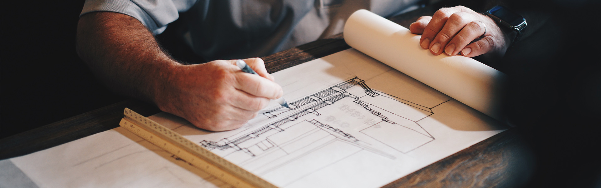 diploma of building design and drafting student